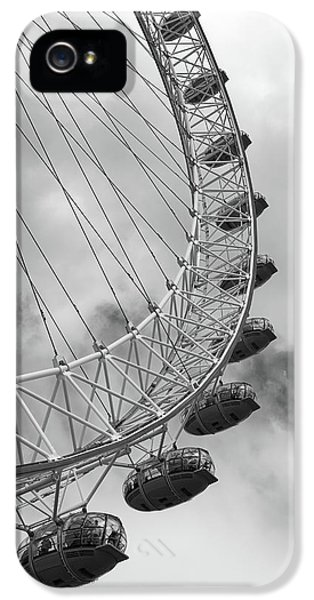 The London Eye, London, England IPhone 5 Case by Richard Goodrich