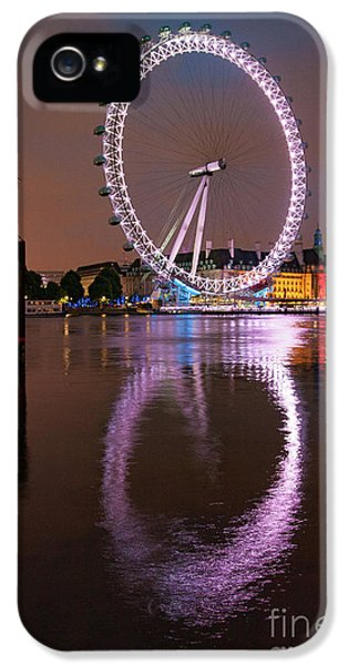 The London Eye IPhone 5 Case by Nichola Denny