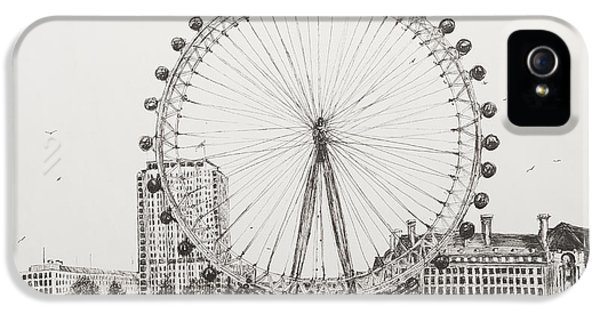 The London Eye IPhone 5 Case by Vincent Alexander Booth