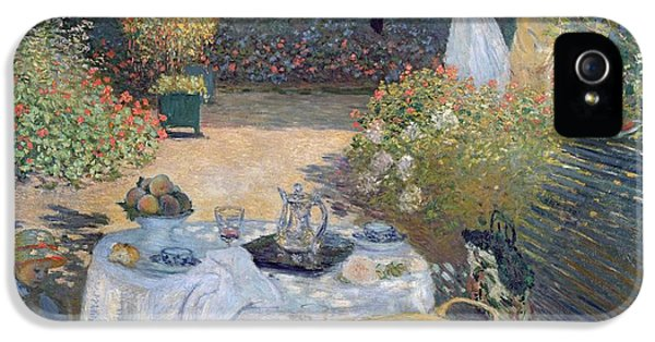 The Luncheon IPhone 5 Case by Claude Monet
