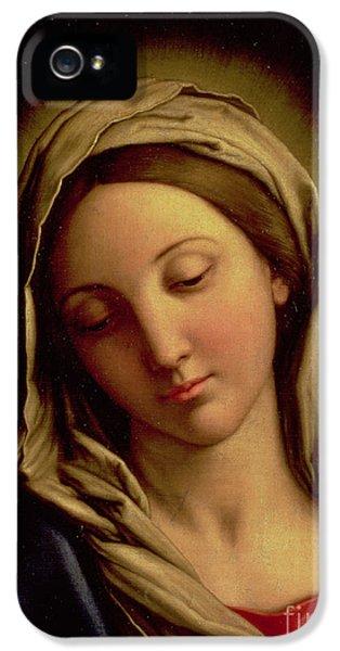The Madonna IPhone 5 Case by Il Sassoferrato
