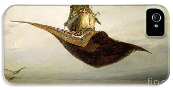 The Magic Carpet IPhone 5 Case by Apollinari Mikhailovich Vasnetsov