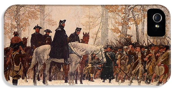 The March To Valley Forge IPhone 5 Case