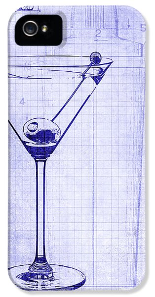 The Martini Blueprint IPhone 5 Case