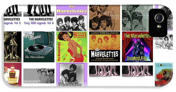 Rhythm And Blues iPhone 5 Case - The Marvelettes 1 by Smart Aviation