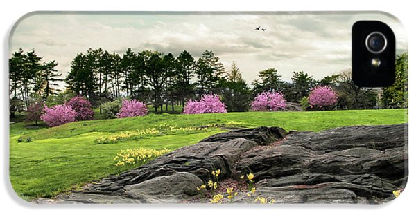 IPhone 5 Case featuring the photograph The Meadow Beyond by Jessica Jenney