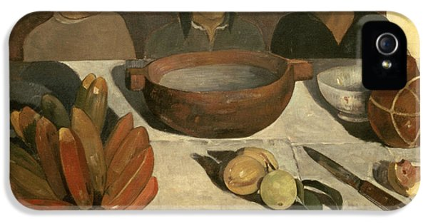 The Meal IPhone 5 Case by Paul Gauguin