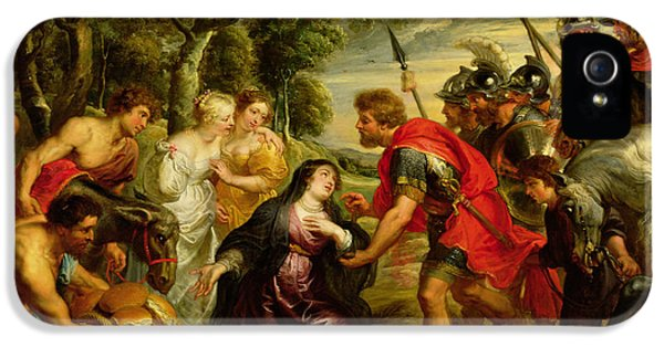 The Meeting Of David And Abigail IPhone 5 Case