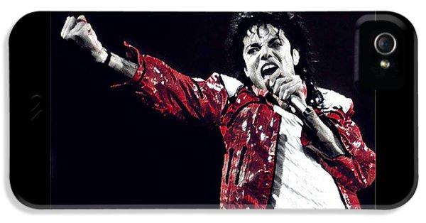 The Michael Jackson's Roar  IPhone 5 Case