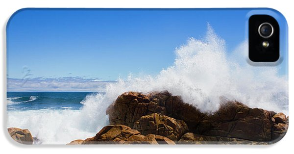IPhone 5 Case featuring the photograph The Might Of The Ocean by Jorgo Photography - Wall Art Gallery
