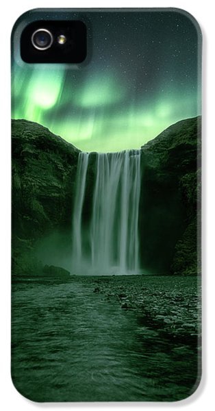 The Mighty Skogafoss IPhone 5 Case by Tor-Ivar Naess