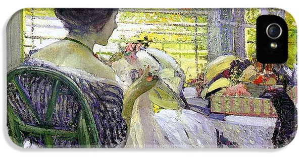 The Milliner IPhone 5 Case by Richard Edward Miller