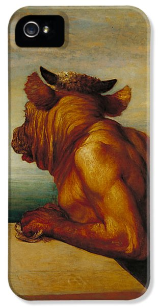 The Minotaur IPhone 5 Case by George Frederic Watts