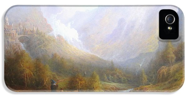 The Misty Mountains IPhone 5 Case by Joe  Gilronan