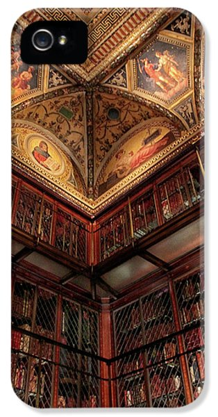 IPhone 5 Case featuring the photograph The Morgan Library Corner by Jessica Jenney