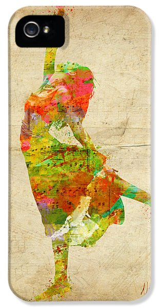 The Music Rushing Through Me IPhone 5 Case by Nikki Smith