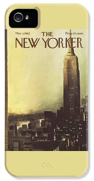 The New Yorker Cover - March 3rd, 1962 IPhone 5 Case