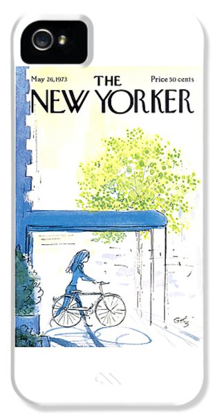 The New Yorker Cover - May 26th, 1973 IPhone 5 Case