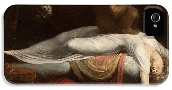 The Nightmare IPhone 5 Case by Henry Fuseli