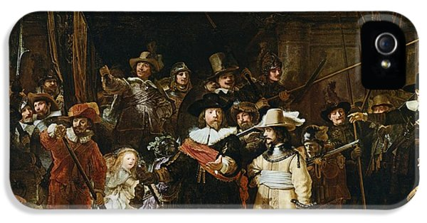 The Nightwatch IPhone 5 Case by Rembrandt