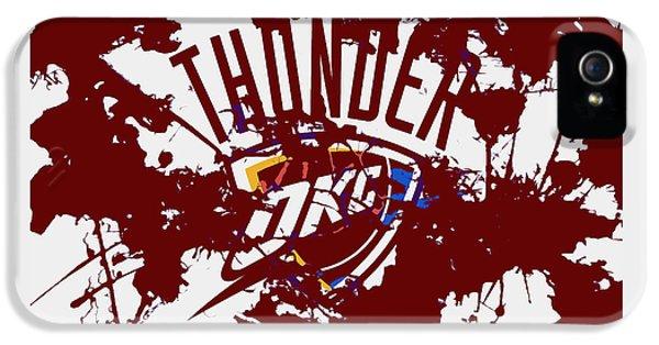 The Oklahoma City Thunder 1a IPhone 5 Case