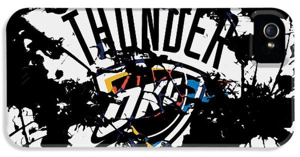 The Oklahoma City Thunder IPhone 5 Case