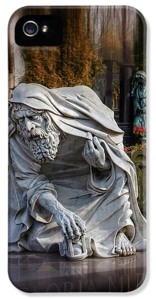 The Old Man Of Powazki Cemetery Warsaw  IPhone 5 Case