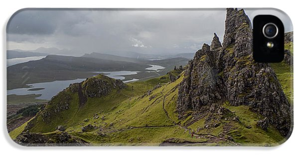 The Old Man Of Storr, Isle Of Skye, Uk IPhone 5 Case by Dubi Roman