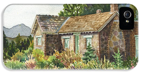 The Old Moore House At Caribou Ranch IPhone 5 Case by Anne Gifford