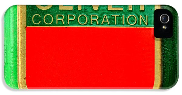 Oliver Tractor iPhone 5 Case - The Oliver Corporation by Olivier Le Queinec