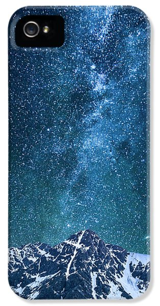 IPhone 5 Case featuring the photograph The One Who Holds The Stars by Aaron Spong