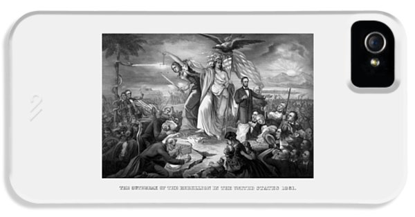 The Outbreak Of The Rebellion In The United States IPhone 5 Case