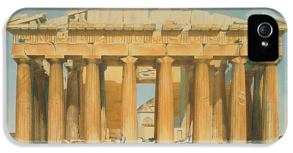 The Parthenon IPhone 5 / 5s Case by Louis Dupre