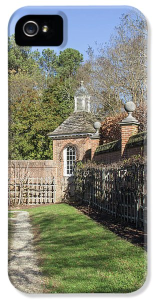 The Path To The Potting Shed IPhone 5 Case by Teresa Mucha