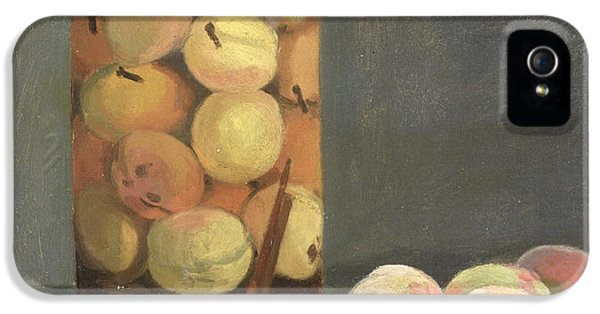 The Peach Glass IPhone 5 Case by Claude Monet