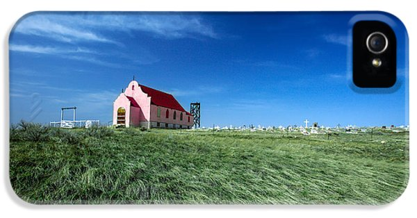 The Pink Church IPhone 5 / 5s Case by Todd Klassy