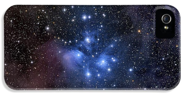 No People iPhone 5 Cases - The Pleiades, Also Known As The Seven iPhone 5 Case by Roth Ritter