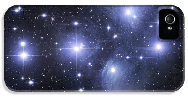 Sky iPhone 5 Cases - The Pleiades iPhone 5 Case by Robert Gendler