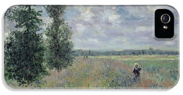 The Poppy Field IPhone 5 / 5s Case by Claude Monet