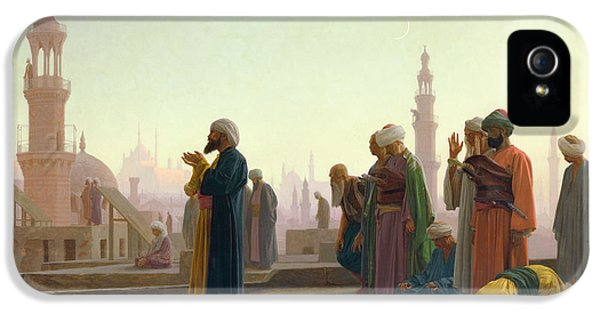 The Prayer IPhone 5 Case by Jean Leon Gerome