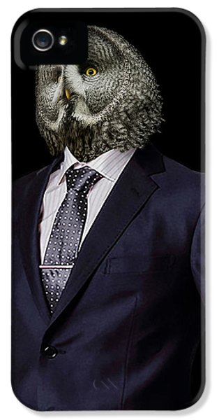 The Prosecutor IPhone 5 Case by Paul Neville