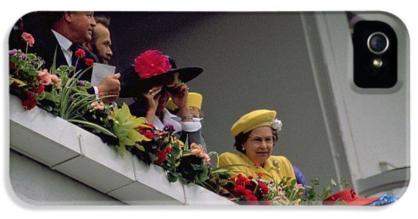 The Queen At Derby Day 1988 IPhone 5 Case