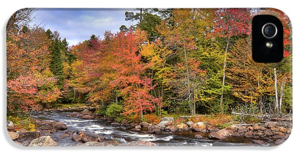 IPhone 5 Case featuring the photograph The Rapids On The Moose River by David Patterson