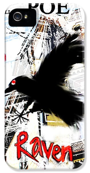 The Raven Poster  IPhone 5 Case