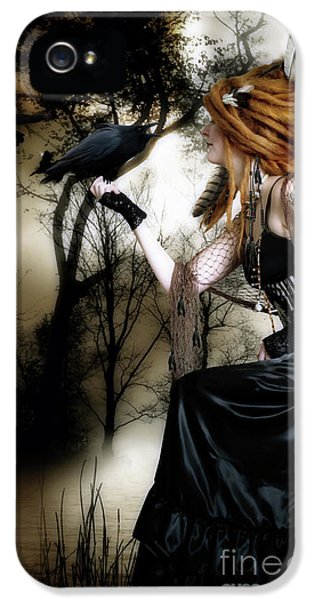 The Raven IPhone 5 Case by Shanina Conway