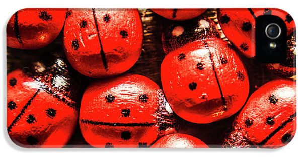 Ladybug iPhone 5 Case - The Red Bug Out  by Jorgo Photography - Wall Art Gallery