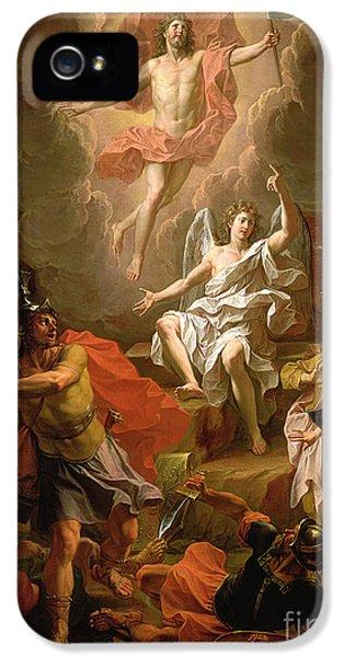 The Resurrection Of Christ IPhone 5 Case by Noel Coypel
