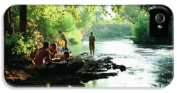 IPhone 5 Case featuring the photograph The River by Dubi Roman