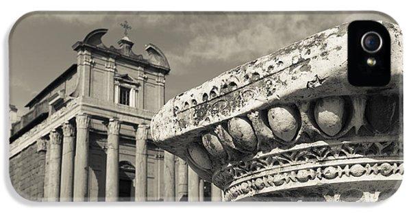 The Roman Forum IPhone 5 Case by Edward Fielding