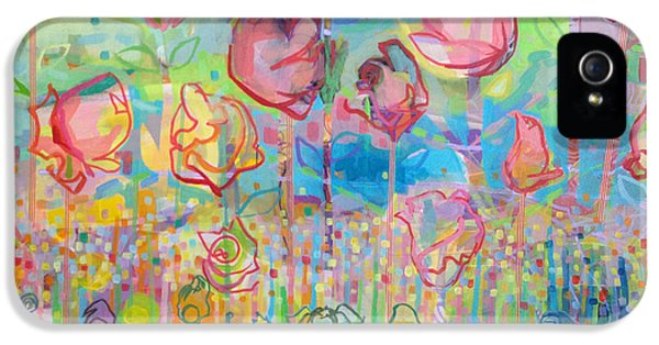 The Rose Garden, Love Wins IPhone 5 Case by Kimberly Santini